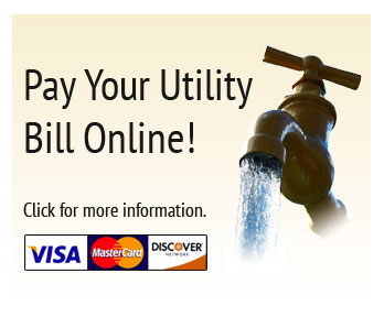 Pay your utility bill online.