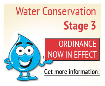 Water Conservation Stage 3 in Effect