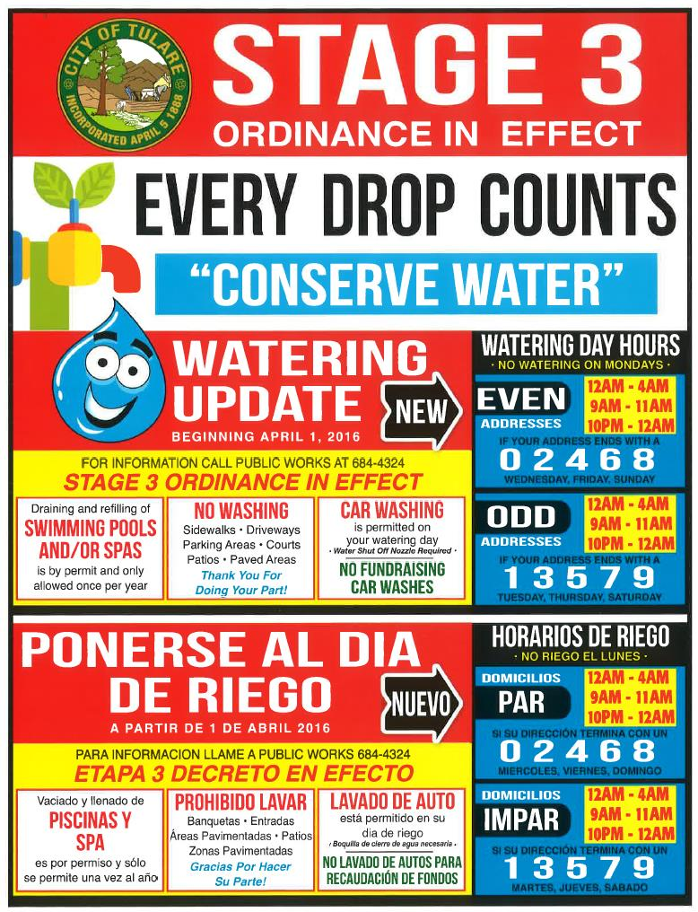 New Watering Flyer