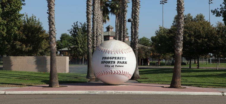Prosperity Sports Park - Baseball Monument