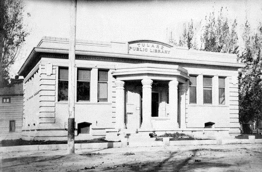 Carnegie Library in Tulare