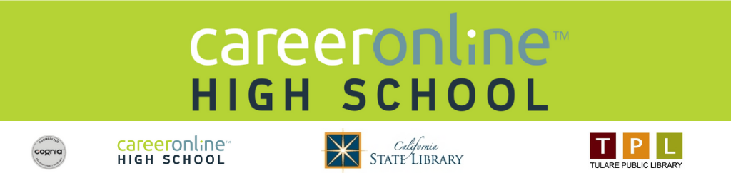 Career Online High School page banner.