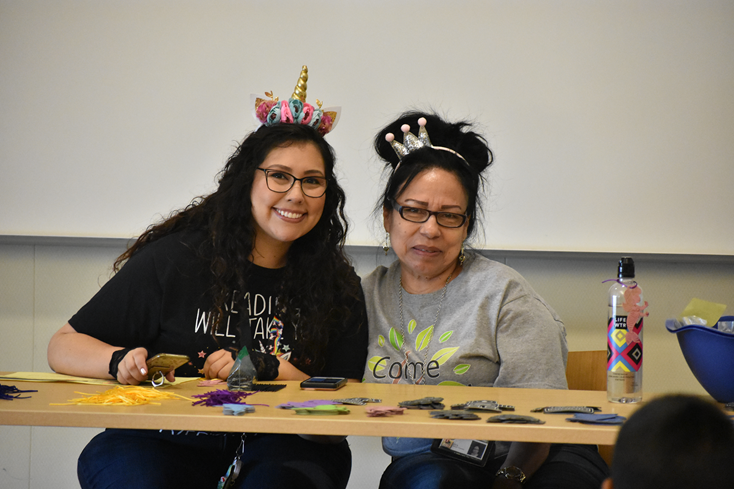 TPL Staff host a craft event