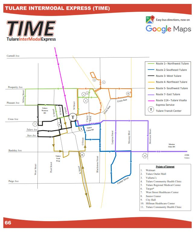 Transit Route Overview