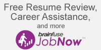 JobNow Free Resume Review, career assistance and more