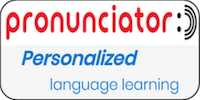 Pronunciator Personalized language learning