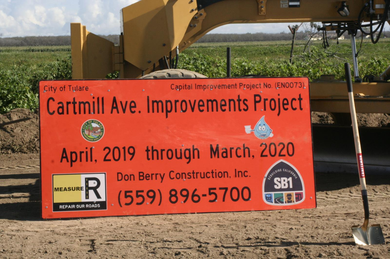 Cartmill Construction sign